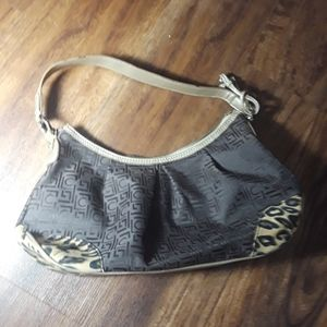 Liz Claiborne cheetah print bag